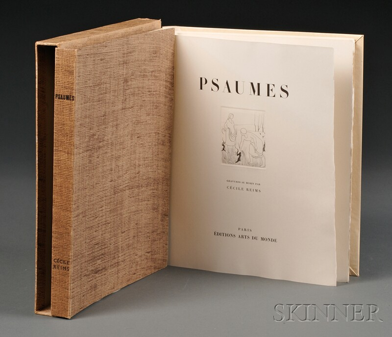 (Fine Art Monograph), Riems, Cecile, engraver