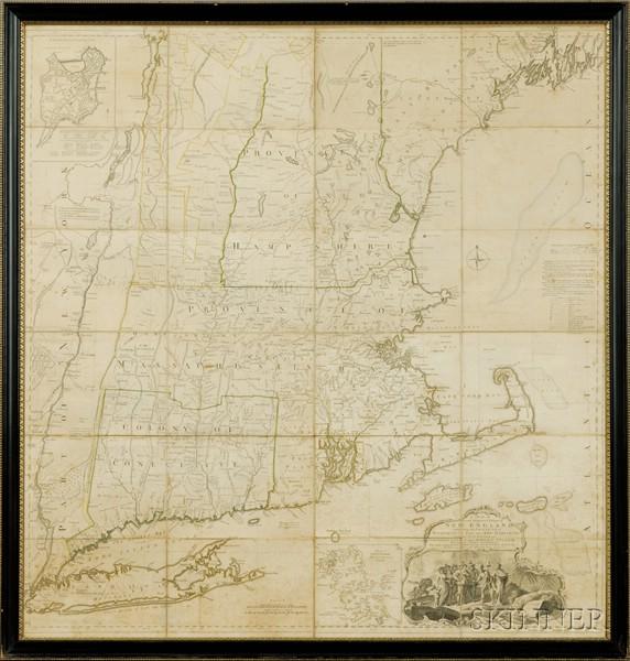 (North America, New England), Jefferys, Thomas (d. 1771)