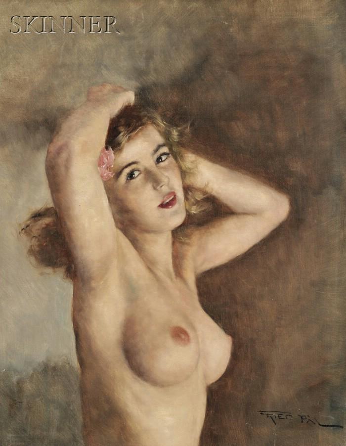 Pal Fried (Hungarian/American, 1893-1976)      Madeleine