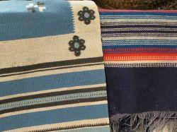 Two Native American Weavings.