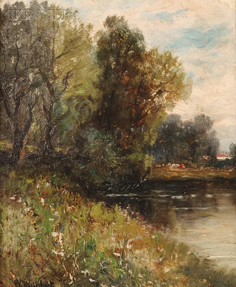 Wesley Elbridge Webber (American, 1841-1914)      View in Arlington, Mass