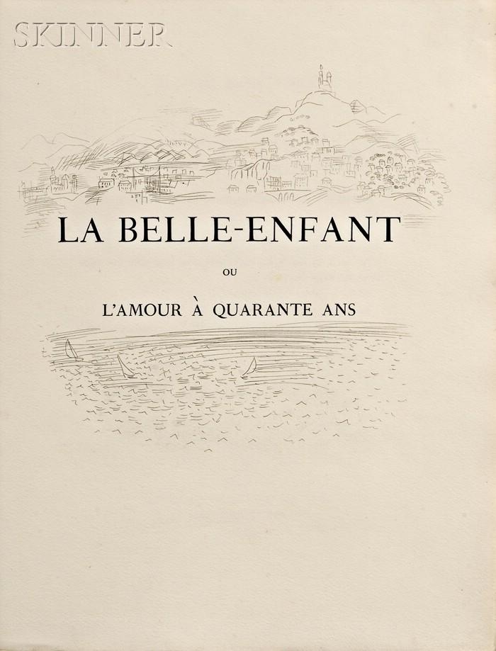 Raoul Dufy (French, 1877-1953)      La Belle-Enfant ou L'Amour à Quarante Ans