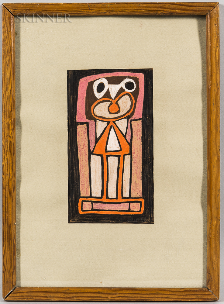 Attributed to Joseph Fehér (American, 1908-1987)      Untitled Abstract Standing Figure