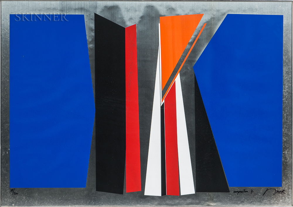 Jean Baier (Swiss, 1932-1999)      Composition