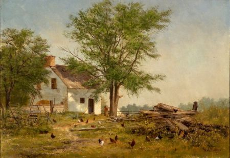 Newbold Hough Trotter (American, 1827-1898)    The Humble Home