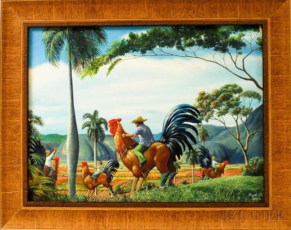 Miguel Angel Pi (Cuban, b. 1963)      Vagando al Guateque