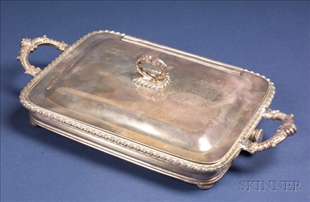 Sheffield Plate Vegetable Chafing Dish