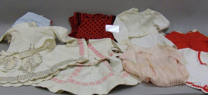 Large Group of Vintage and Antique Children's Clothing