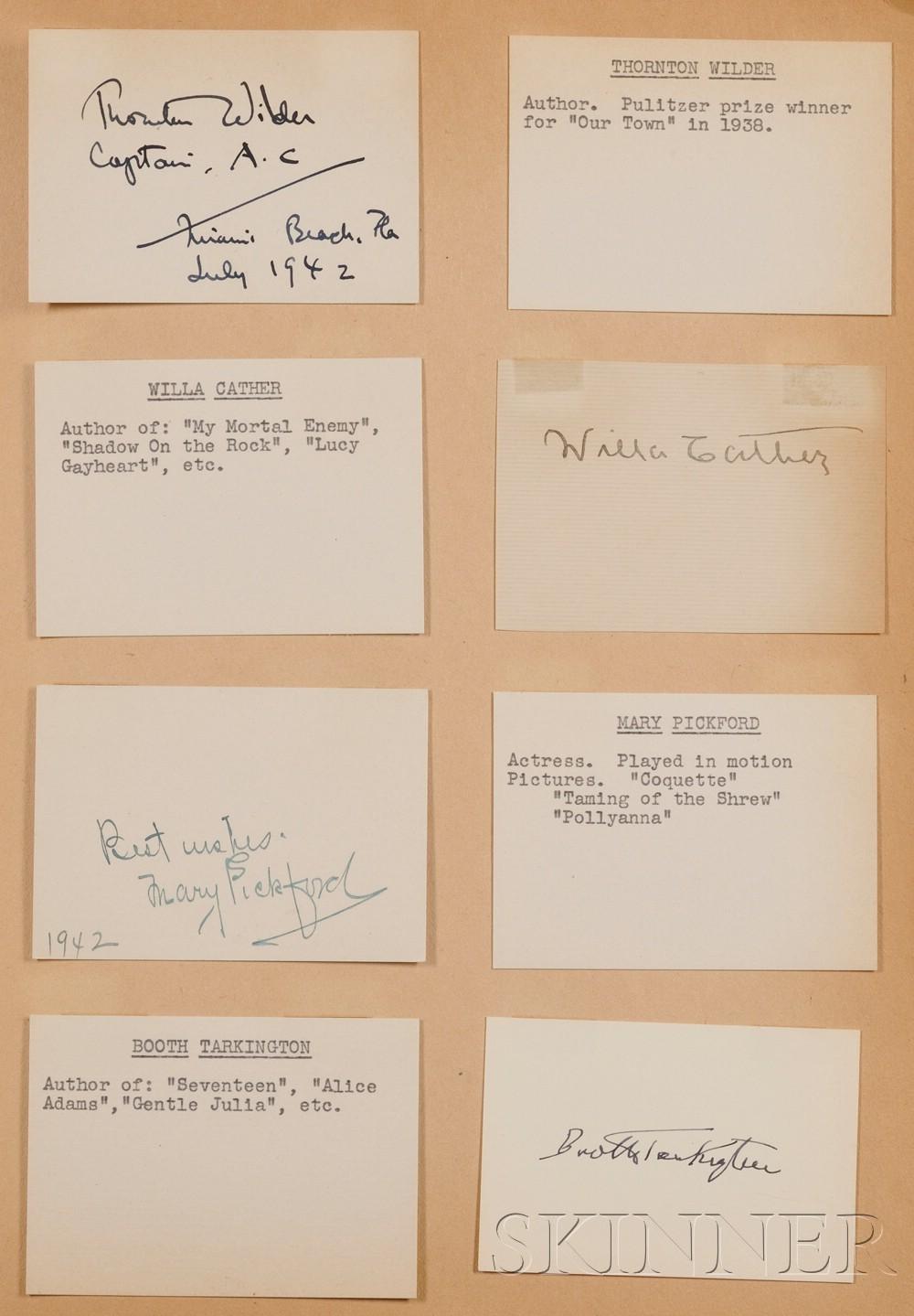 (Autograph Album, 20th century)