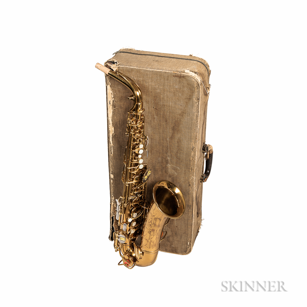Alto Saxophone, C.G. Conn Connqueror 26M, 1939