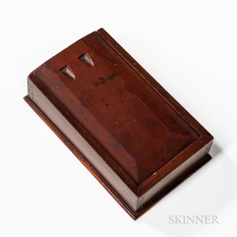 Shaker Pine and Poplar Spice Box