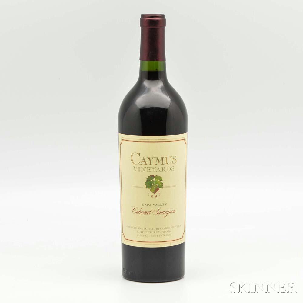 Caymus Cabernet Sauvignon 1995, 1 bottle