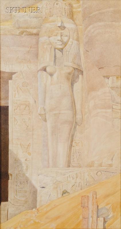 Henry Roderick Newman (American, 1833-1918)      Queen Nefertiti
