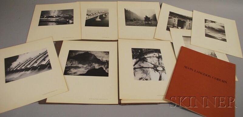 Alvin Langdon Coburn (American/British, 1882-1966)      Thirteen Prints from A Portfolio of Sixteen Photographs