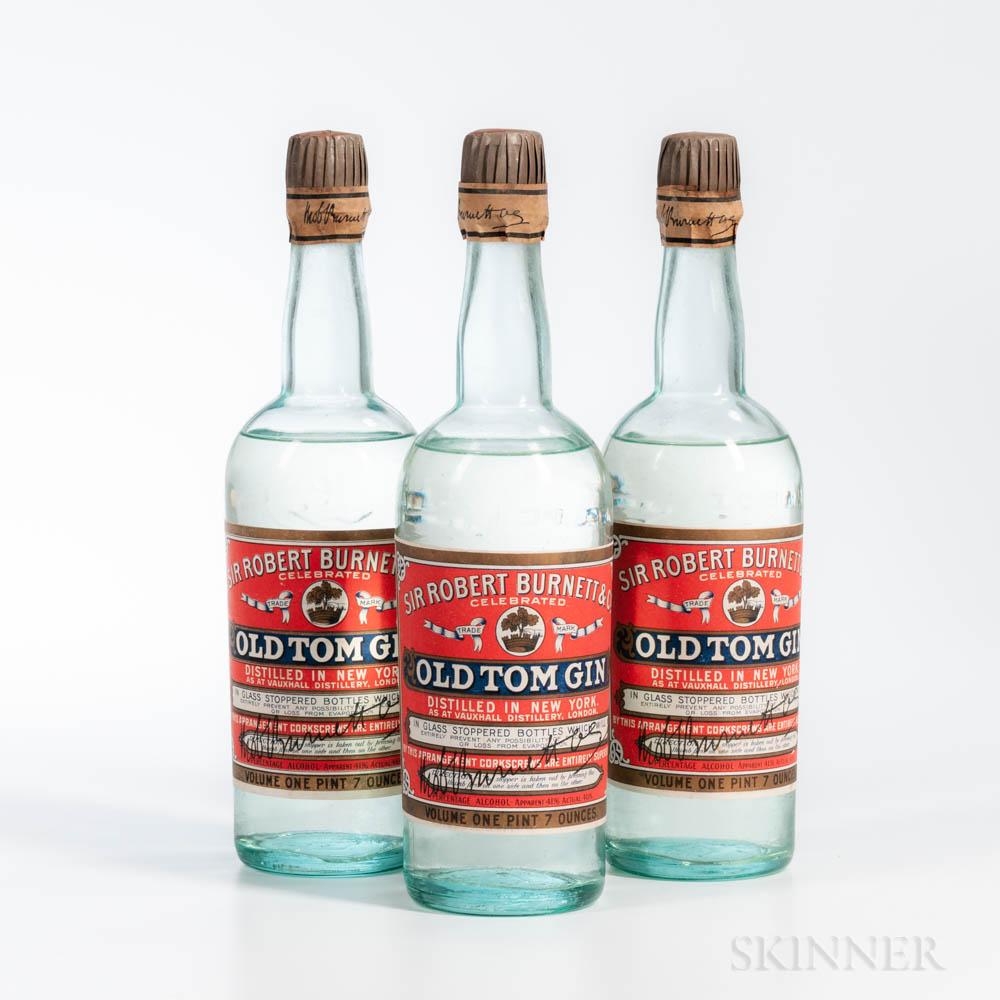 Old Tom Gin, 3 23oz bottles