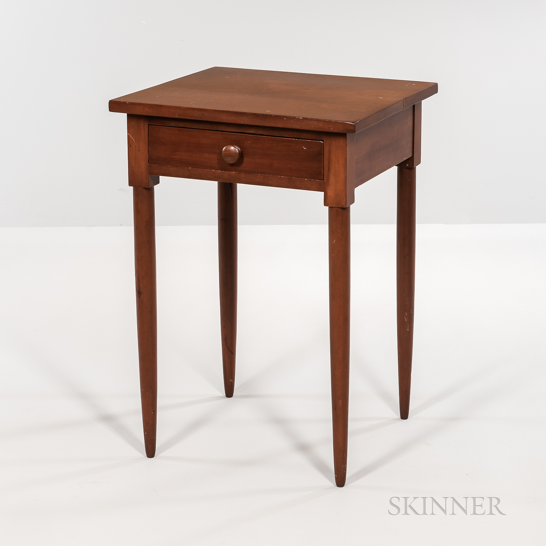 Shaker Cherry One-drawer Stand