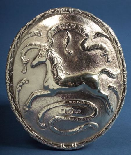 George V Silver Doggett's Badge