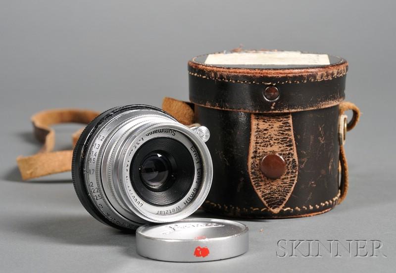 Ernst Leitz Summercron f/3.5 Lens No. 1149907