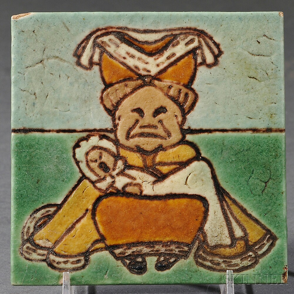 """C. Pardee Works """"The Duchess"""" Tile"""