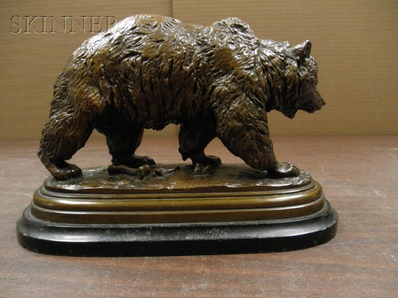 Isidore Jules Bonheur (French, 1827-1901)      Walking Bear