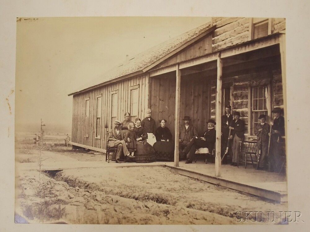 Russell, Andrew Joseph (1830-1902) Eighty-four Photographs of the American West, c. 1869.