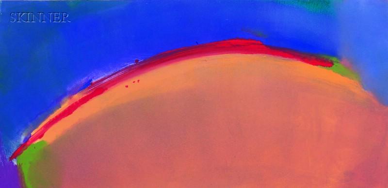 Elizabeth DaCosta Ahern  (American, 20th/21st Century)      Untitled (Red Arc).