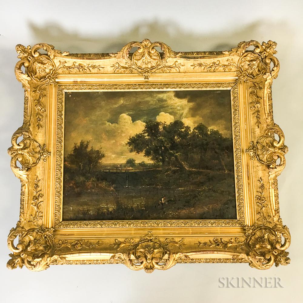 After John Constable (British, 1776-1837)    Dedham Vale