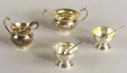 Four Small Gebelein Sterling Table Articles