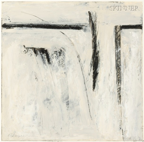 Elizabeth DaCosta Ahern  (American, 20th/21st Century)      Paintings on Paper