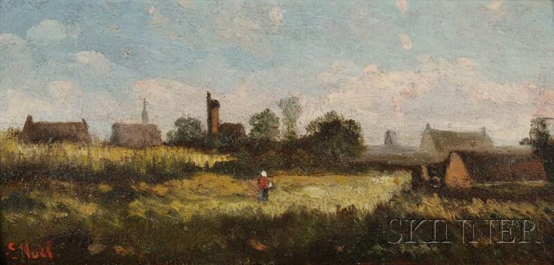 French School, 19th Century      Barbizon Landscape