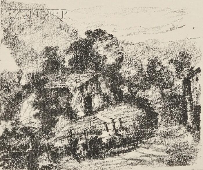 Lovis Corinth (German, 1858-1925)      Alphütte