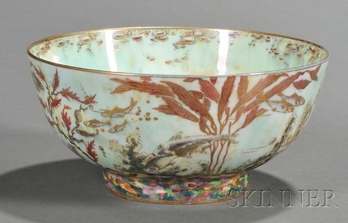 Wedgwood Fish Lustre Bowl