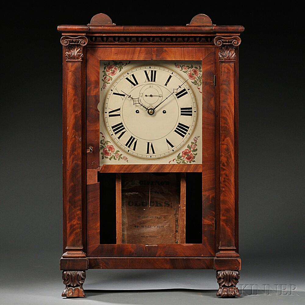 Sylvester Clarke Salem Bridge Shelf Clock