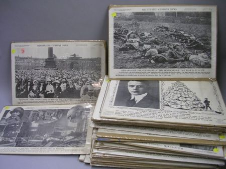 Thirty-nine Pages from Illustrated Current News