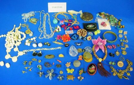 Group of Costume and Miscellaneous Jewelry
