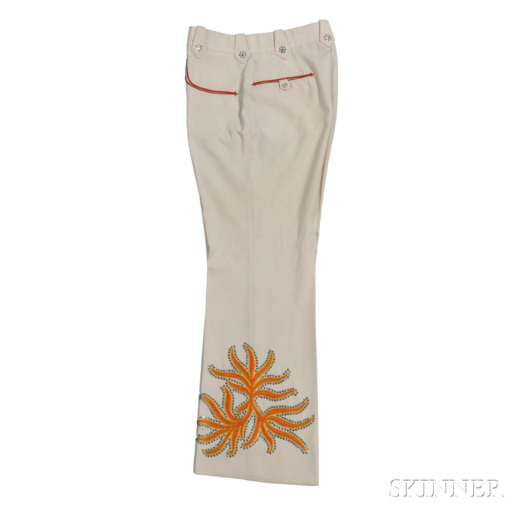 Bill Anderson Band     Cream Nudie Band Pants