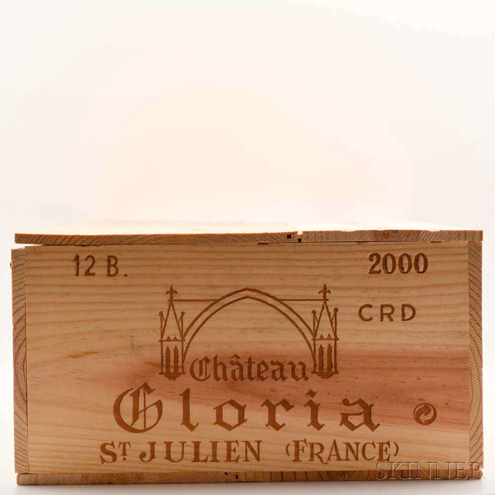 Chateau Gloria 2000, 12 bottles (owc)