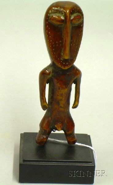 African Carved Ivory Male Figure