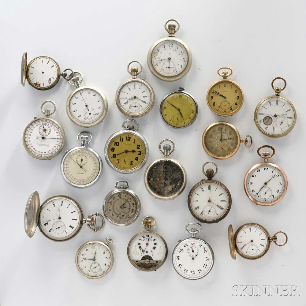 Twenty Swiss Watches