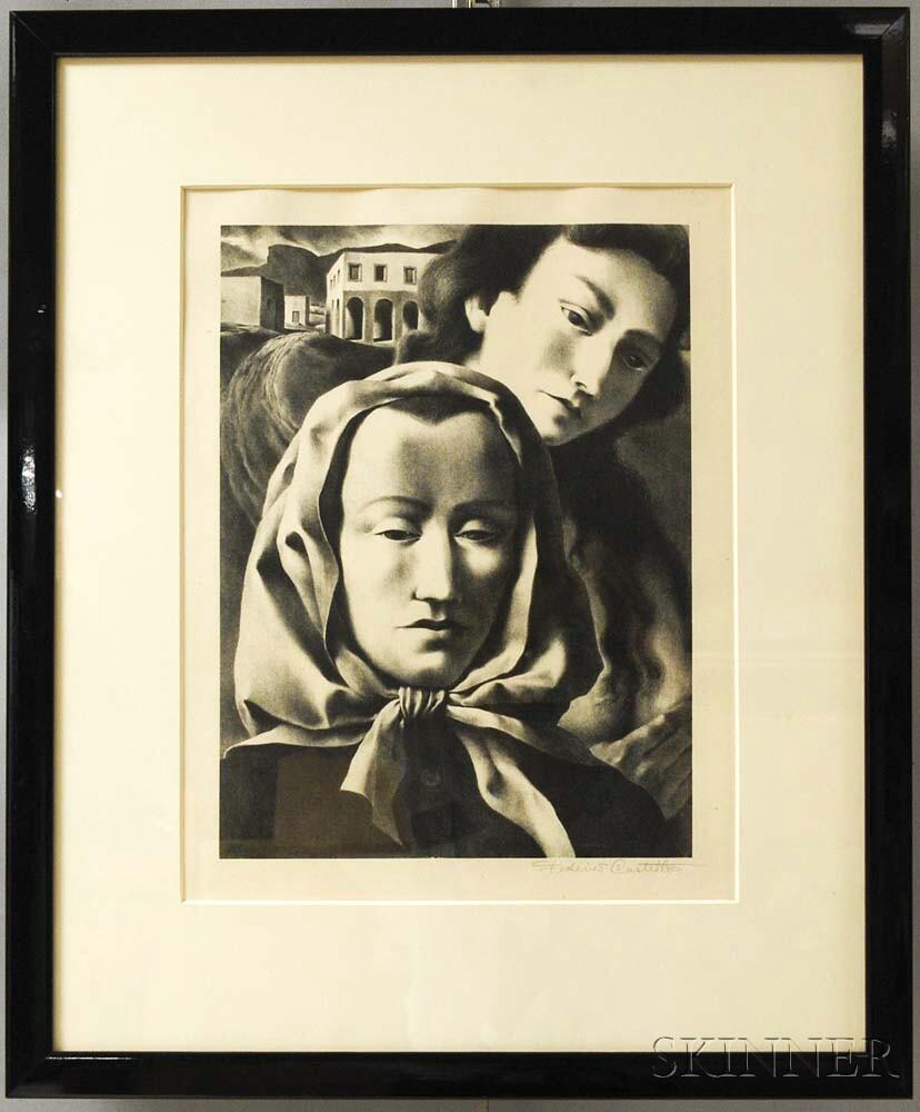 Federico Castellon (American, 1914-1971)      Memories