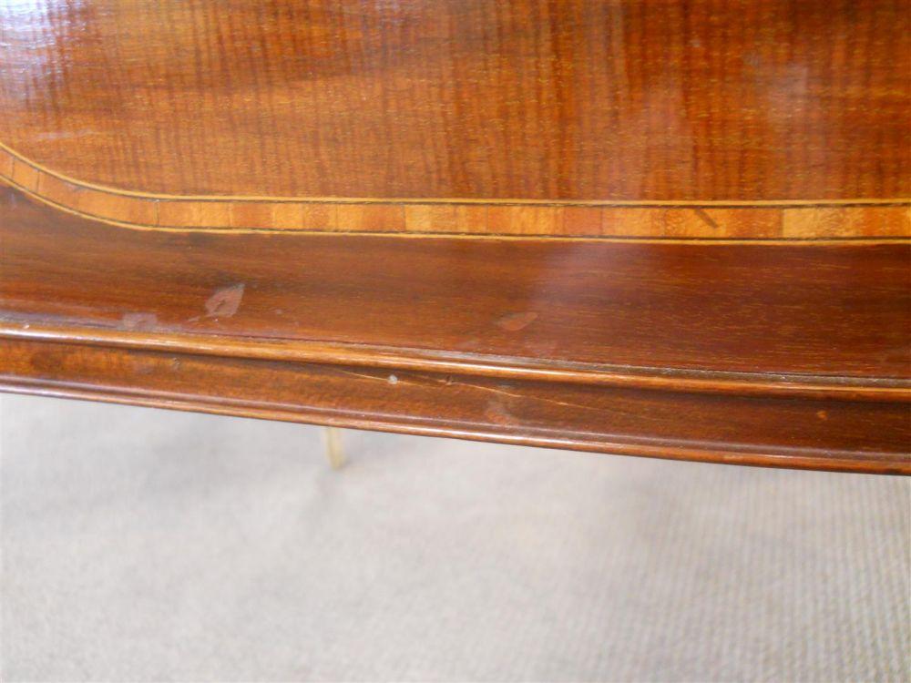 Regency-style Carlton House Mahogany Desk