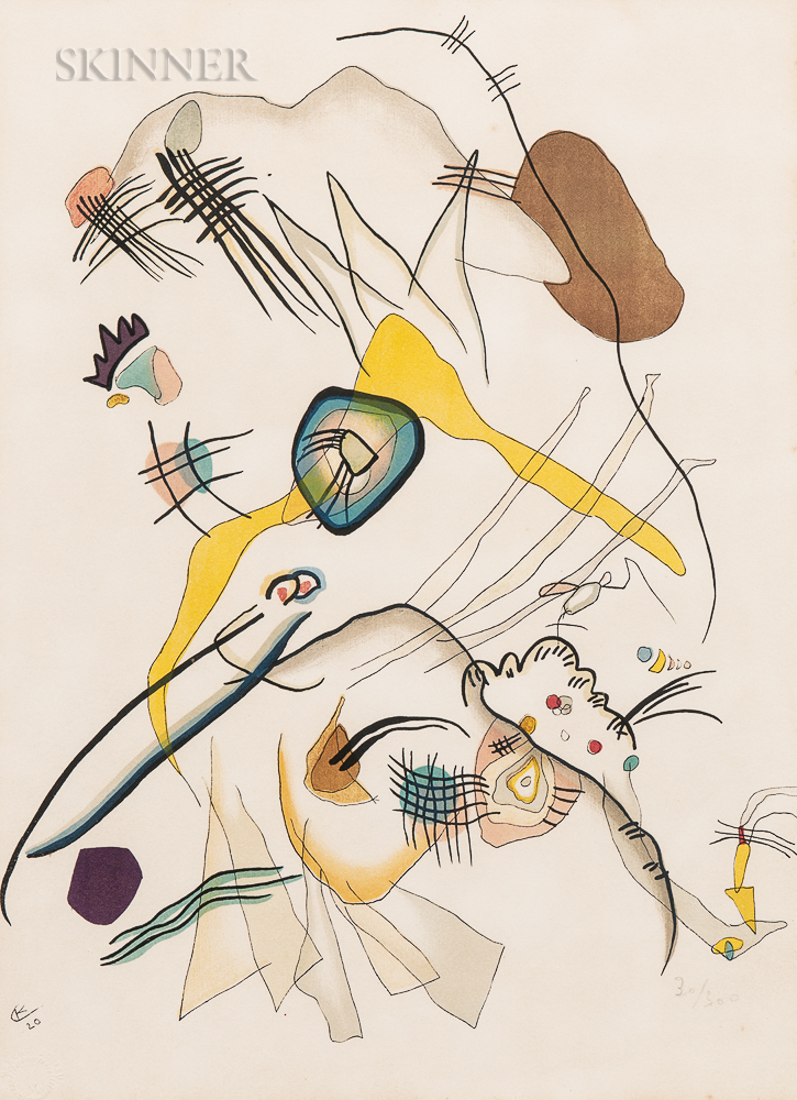 After Wassily Kandinsky (Russian, 1866-1944)      Promenade