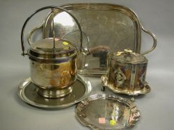 Five Pieces of Silver Plated Tableware