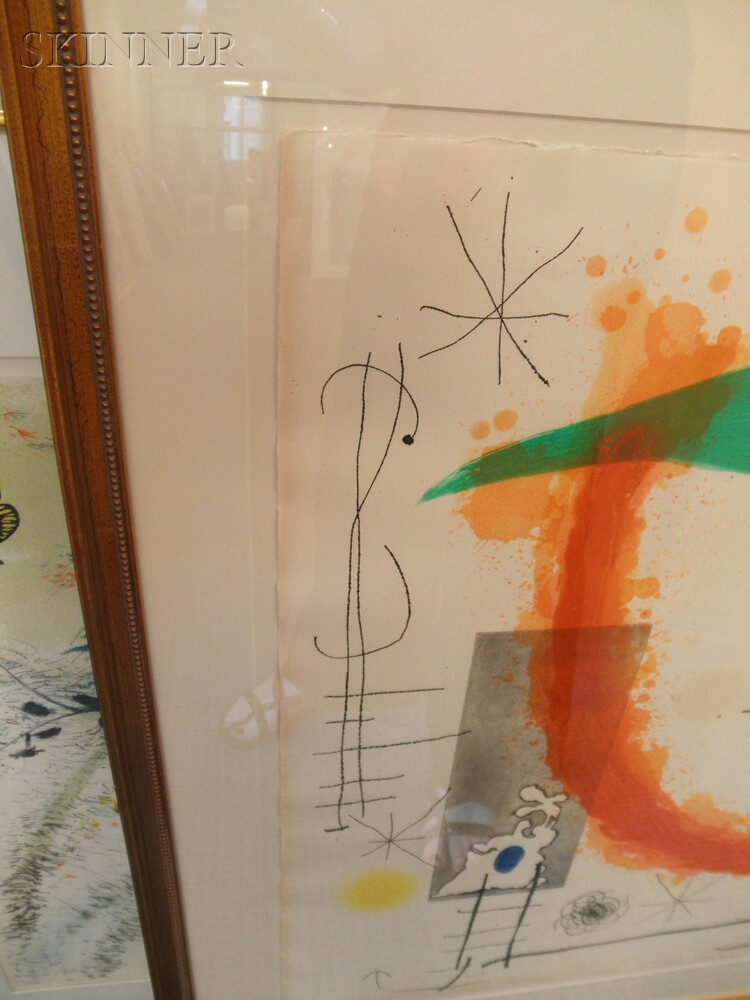 Joan Miró (Spanish, 1893-1983)      Escalade