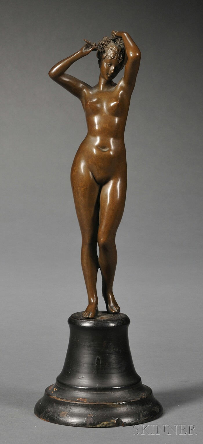 Bronze Figure of a Female Nude