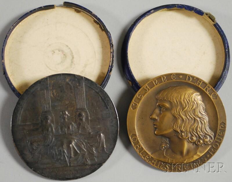 Two Commemorative Medallions