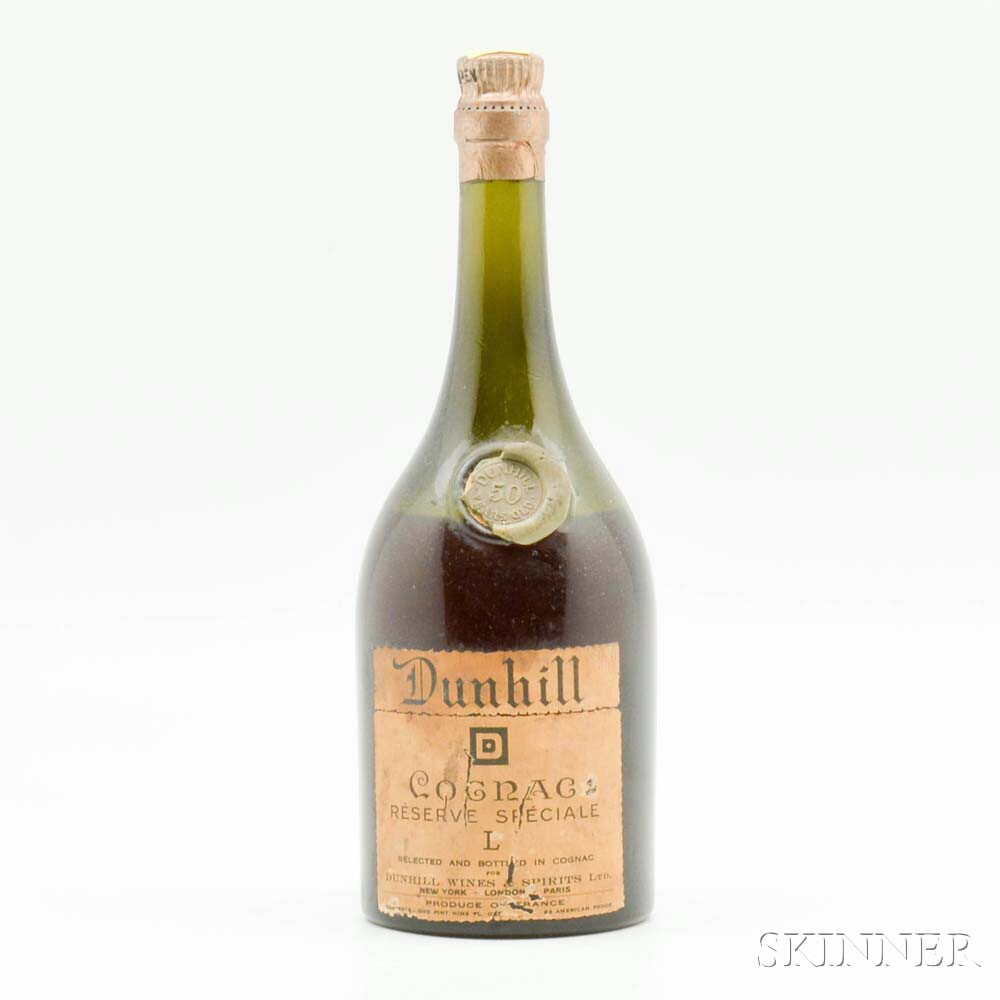 Dunhill Cognac Reserve Speciale 50 Years Old, 1 pint 9 oz bottle