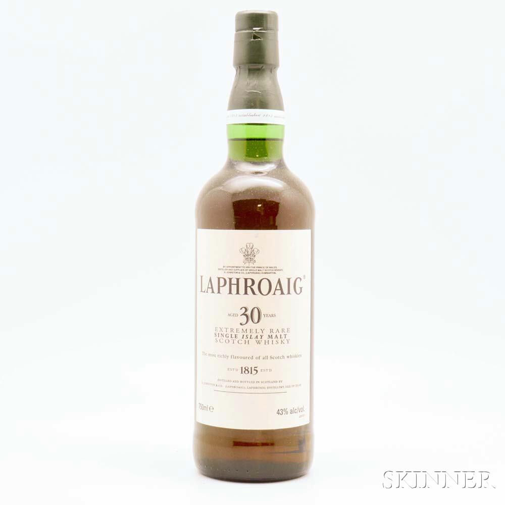 Laphroaig 30 Years Old, 1 750ml bottle