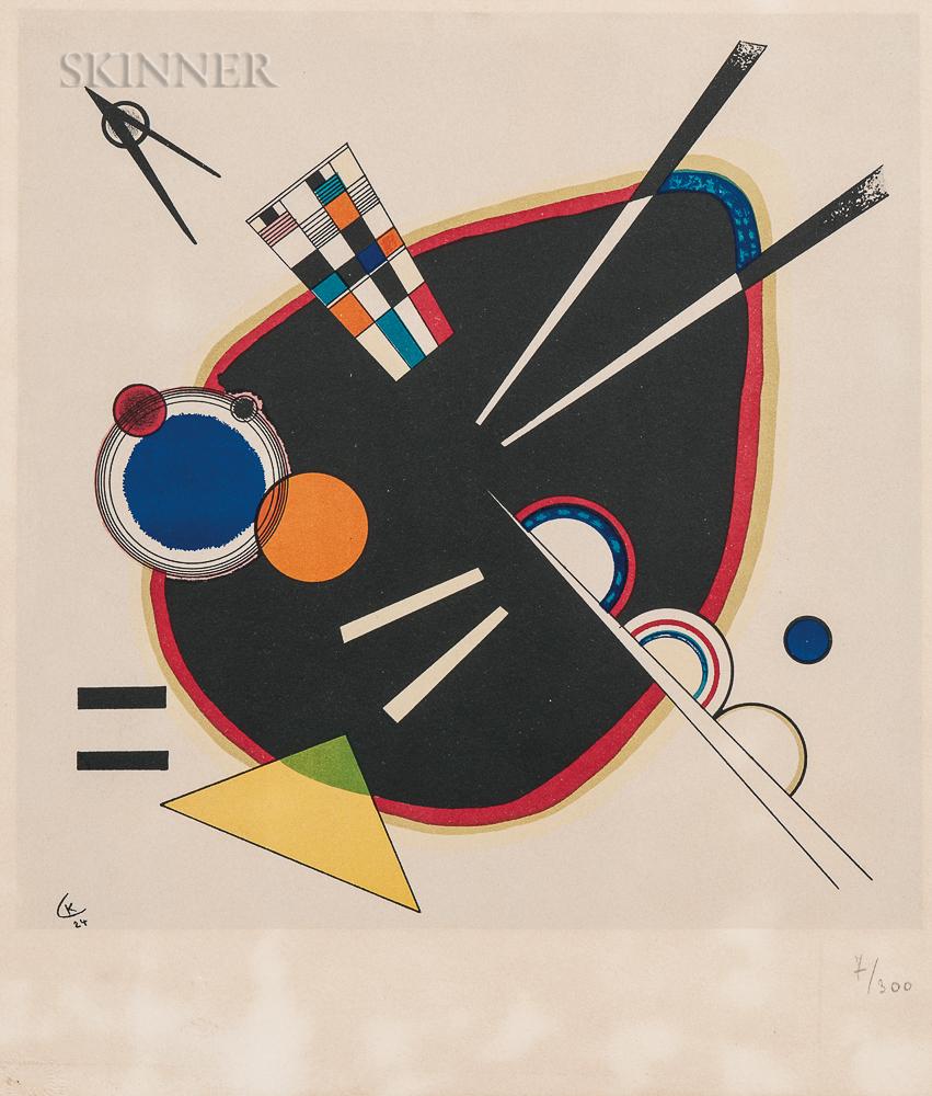 After Wassily Kandinsky (Russian, 1866-1944)      La tache noire