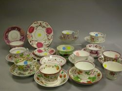 Twenty-six English Ceramic Cups and Saucers